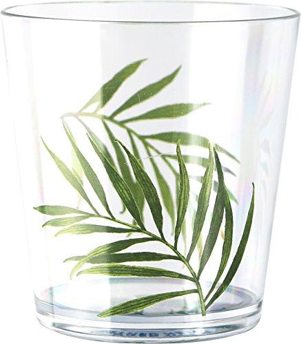 Corelle Coordinates Bamboo Leaf 14-Ounce Acrylic Glass, Set of (Corelle Coordinates Bamboo Leaf)