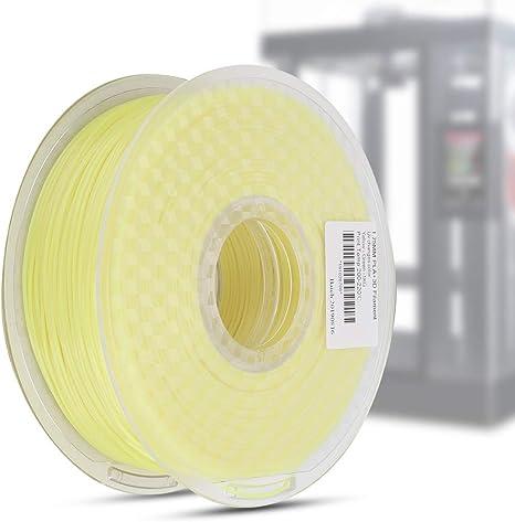 ASHATA La Impresora 3D de filamento PLA con Cambio de Color de luz ...