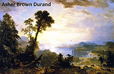 132 Amazing Color Paintings of Asher Brown Durand - American Hudson River School Landscapes Painter (August 21, 1796 - September 17, 1886)