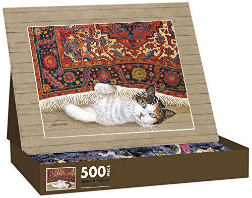 Lang American Cat Rose by Lowell Herrero Jigsaw Puzzle (500-Piece)