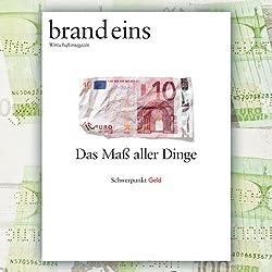 brand eins audio: Geld