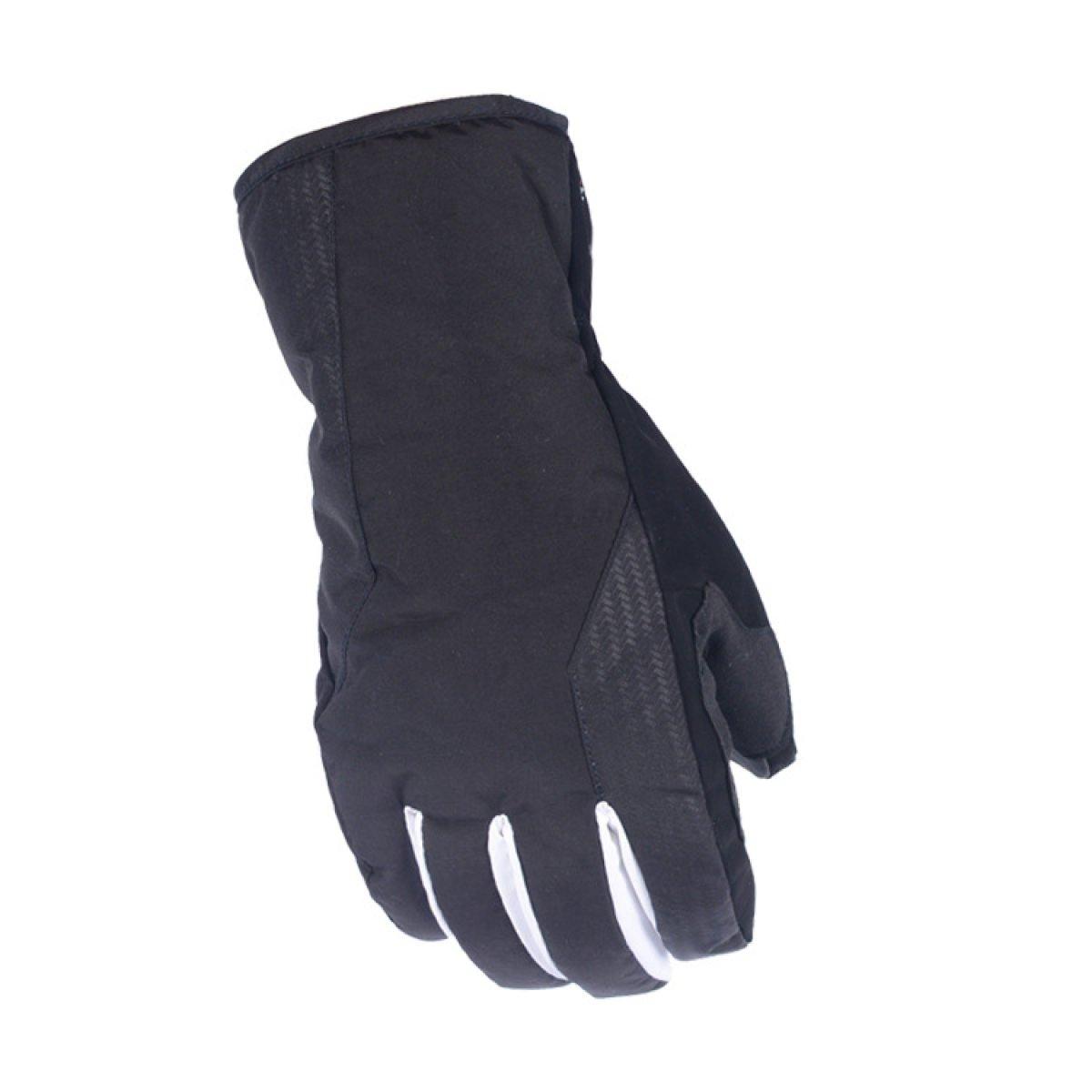 BFMEI Im Freien Skifahren Winterwandern Sport Reiten Handschuhe Wasserdicht Warm Handschuhe,schwarz-XXL
