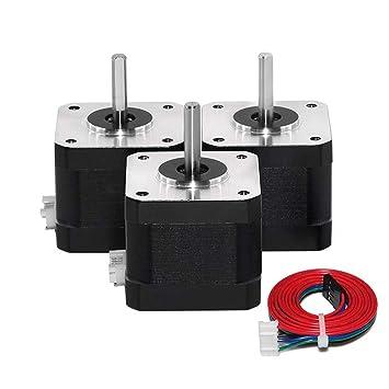 S SMAUTOP Motor paso a paso 42, motores de impresora 3D, motor ...