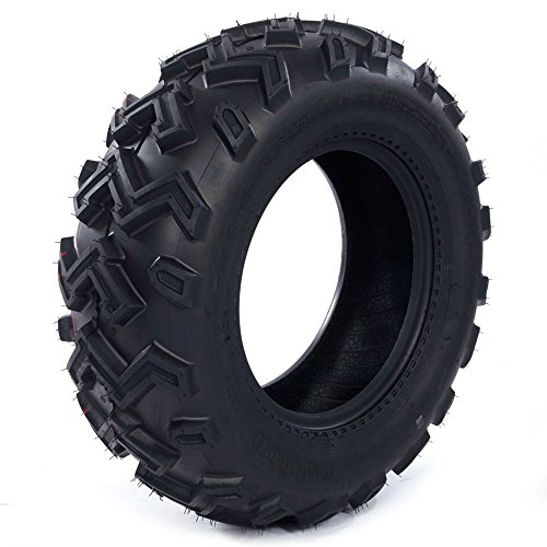 Set of 2 New ATV UTV Rear Tires 25x10-12 Rear 25x10x12, 6 Ply P306B by Autoforever (Image #3)