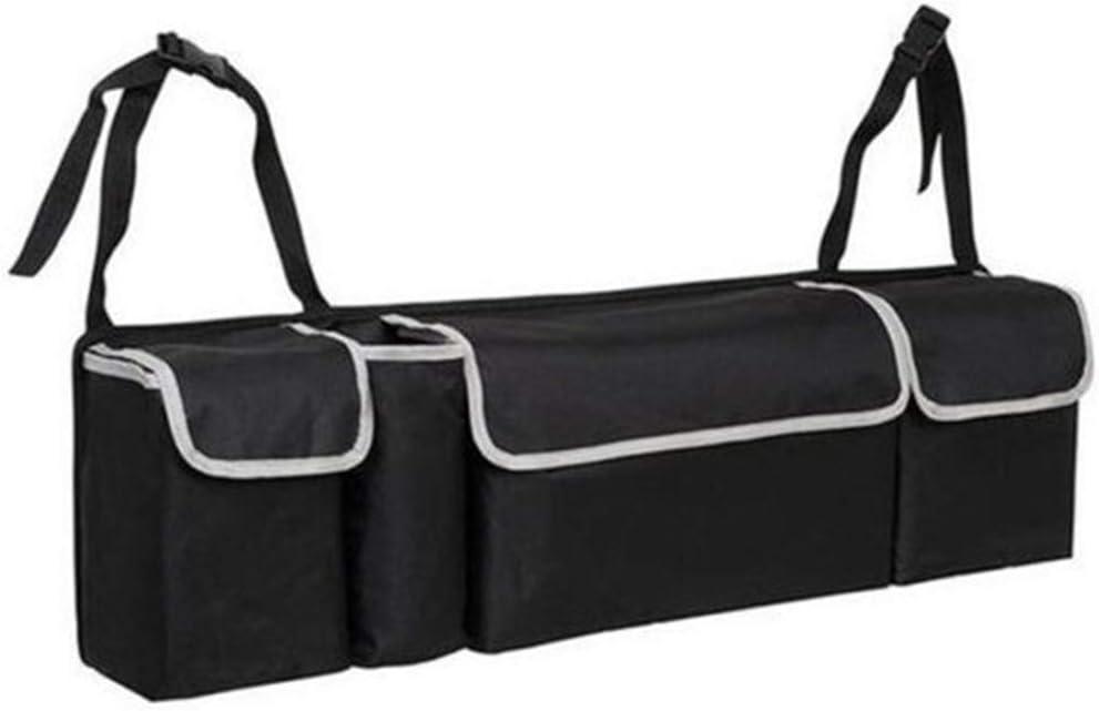 multiscomparto Ajboy 56 * 40 * 26CM Pieghevole Portatile Nero Organizer Universale per Bagagliaio Auto