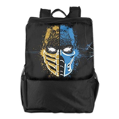 FUOALF Scorpion Vs Sub-Zero Mortal Kombat School Travel Laptop Shoulders Backpack Bag