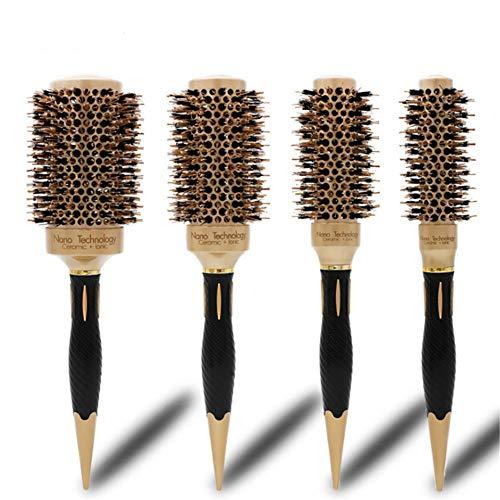 Eastern Corridor Professional Nano Ceramic & Ionic Barrel Round Thermal Brush Hair Styling Blow Drying Curling Brush