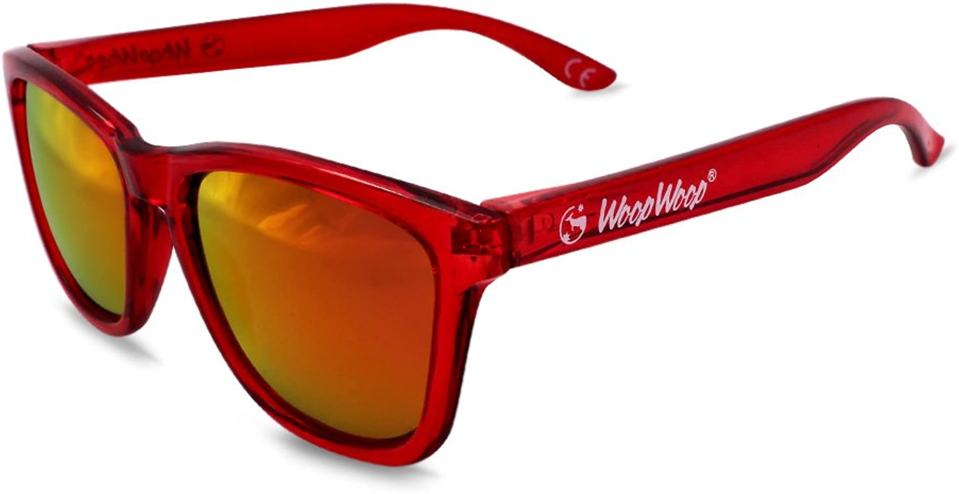 WoopWoop Gafas de Sol Polarizadas Red Reef R22: Amazon.es ...