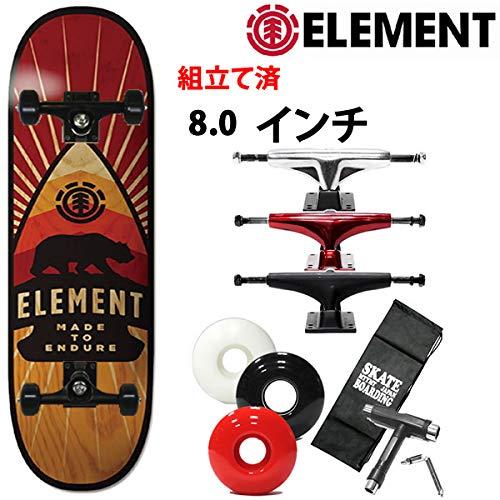 消費税無し ELEMENT(エレメント) スケボー コンプリート エレメント ELEMENT スケボー ARROW element 8.0x32.06インチ element ARROW 027-097 スケートボード 完成品 B07R3YPBFH ブラックトラック|ソフト56mmホワイト ソフト56mmホワイト ブラックトラック, 日本製インナーのマリイクラブ:59825a7a --- 4x4.lt