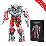 king robot - 3D Jigsaw Puzzles for Kids Adults Robot Aircraft Carrier King Kong Education Toys Christmas Gift Box Large Model for Decoration