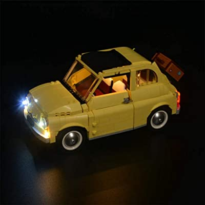 LED Lighting Kit for Lego Creator Series 10271 Fiat 500 Building Blocks Model,LED Light Kit Compatible for Lego 10271 (NOT Included The Model): Home & Kitchen