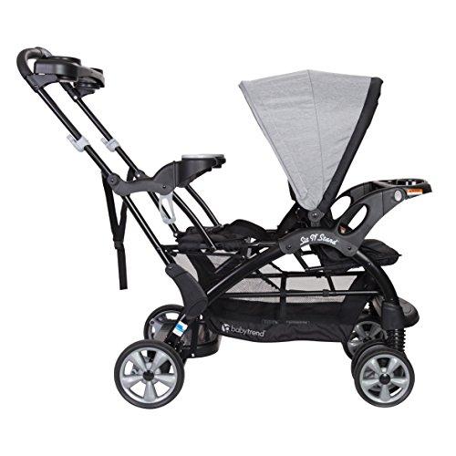 51SpO6OyPjL - Baby Trend Sit N Stand Ultra Stroller, Morning Mist