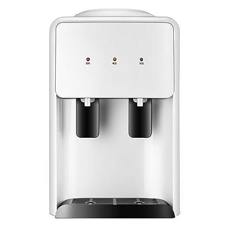 H&RB Dispensador De Agua Fría Y Caliente, Encimera Mini Vaso De Agua Dispensadores Botella De Soporte para La Oficina De Cocina En Casa,White: Amazon.es: ...