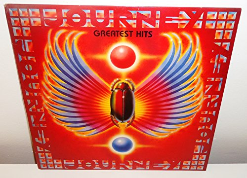 Journey  Greatest Hits Label: Columbia  OC 44493, Columbia  C 44493 Vinyl, LP, Compilation Country: US Released: 1988 Genre: Rock Style: Arena Rock, Classic Rock