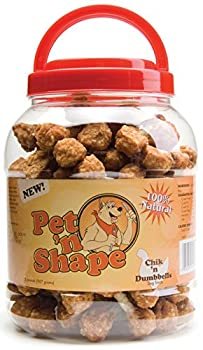 Pet 'N Shape Chik 'N Rice Dumbbells Natural Dog Treats, 32-ounce 0