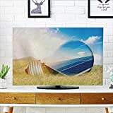Philiphome Protect Your TV Light Bulb and Solar Panels Protect Your TV W36 x H60 INCH/TV 65''