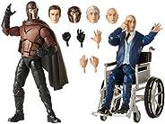 Boneco Marvel Legends Series - Figuras Magneto e Professor X - E9290 - Hasbro