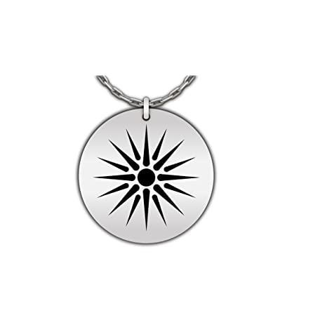 Amazon Hot Fresh And Funny Vergina Sun Necklace Greek
