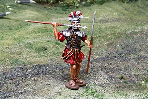 Roman Toy Soldiers Pilum Thrower by The Collectors Showcase Toy Soldiers Painted Metal Figure 54mm-56mm CS00921 WBritain King Country ()