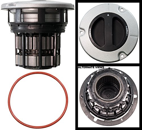 APDTY 140097 4-Wheel Drive Manual Locking Hub Fits Front Left or Right 2005-2016 Ford F250 F350 F450 F550 Super Duty (4WD; Manual Hub Lock; Replaces BC3Z-3B396-B, BC3Z3B396B) 4wd Manual