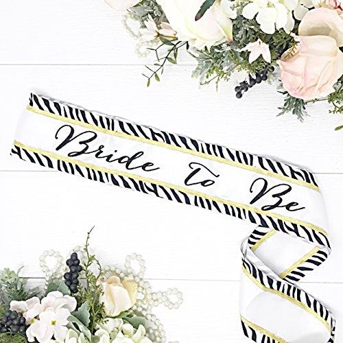 Animal Print Bachelorette Sash - Gold by Lauren Lash Designs