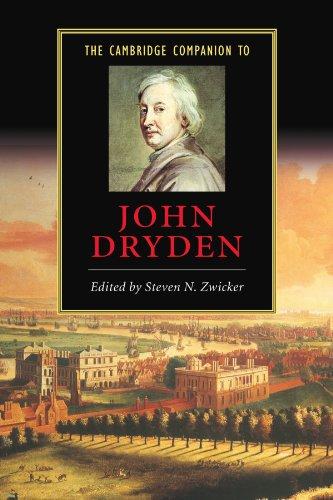 The Cambridge Companion to John Dryden (Cambridge Companions to Literature)