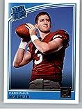 #6: 2018 Donruss Football #302 Josh Rosen RC Rookie Card Arizona Cardinals Rated Rookie Official NFL Trading Card