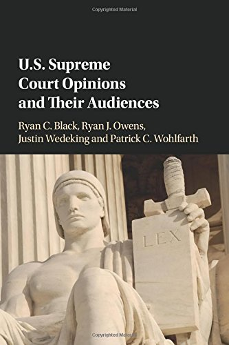 Download US Supreme Court Opinions and their Audiences pdf epub