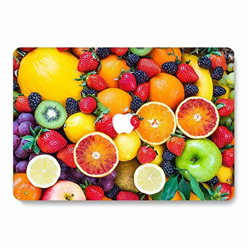 MacBook Pro 13 Case 2016 2017 2018 Model A1706/A1708/A1989, AQYLQ Matt Plastic Hard Case Shell Cover for Apple Newest MacBook Pro 13 Inch with/Without Touch Bar and Touch ID, 745 Fruit ()