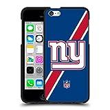 5c phone cases new york giants - Official NFL Stripes New York Giants Logo Black Soft Gel Case for Apple iPhone 5c