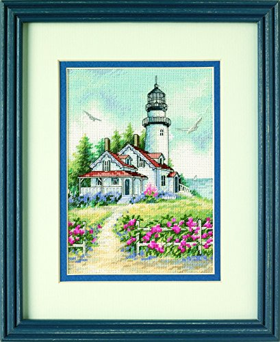 Dimensions Petite Counted Cross Stitch Kit Scenic Lighthouse