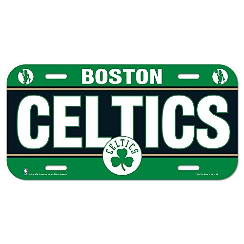(WinCraft NBA Boston Celtics License Plate )