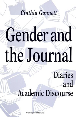 Gender And The Journal  Diaries And Academic Discourse  Suny Series  Literacy  Culture  And Learning   Suny Series  Literacy  Culture  And Learning   Theory And Practice