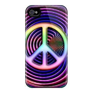 Brand New 4/4s Defender Case For Iphone (peace)