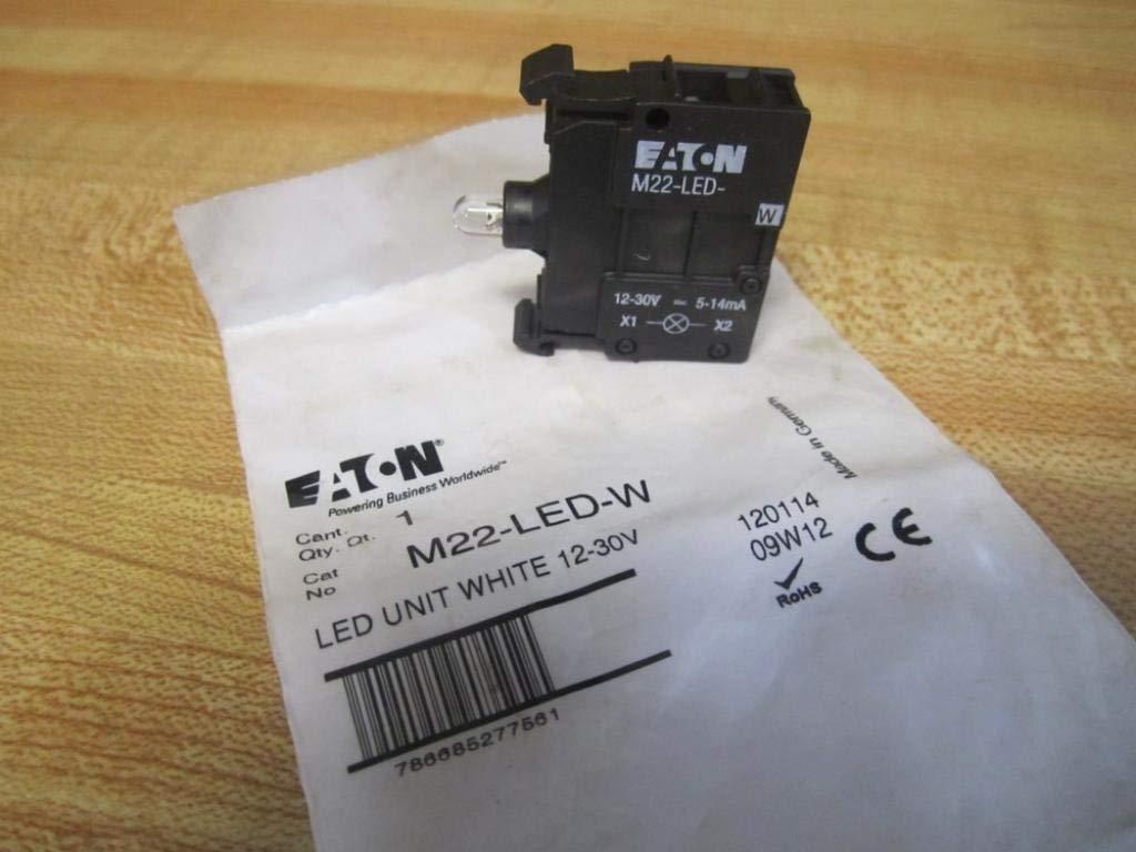EATON LED-Elemente 85-264V weiß Frontbefestigung