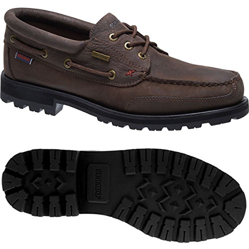 Sebago Man WP Brown Eye FGL Vershire Three Dk pTwC6q48wK