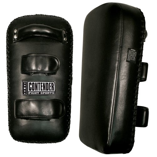 Contender Fight Sports Kickboxing Muy Thai MMA Training Kick Punch Strike Shield Thai Pads (Pair)