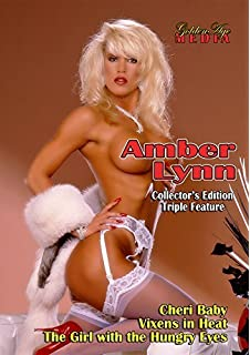 Amber Lynn Collectors Edition Triple Feature 3 Disc Dvd Set