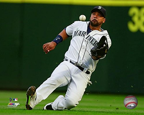 (Franklin Gutierrez Seattle Mariners 2016 MLB Action Photo (Size: 8
