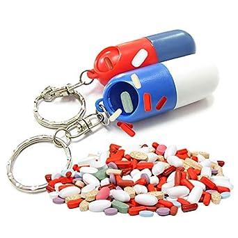 Amazon.com: Dunnomart - Caja de pastillas de plástico para ...