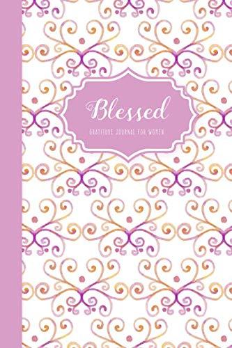 Blessed - Gratitude Journal for Women: Mauve Swirl