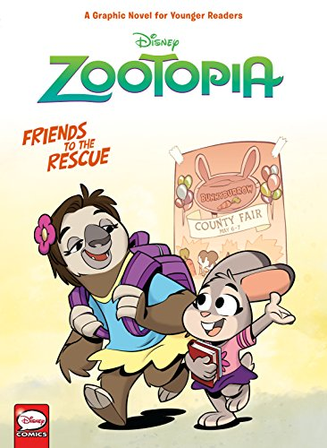Disney Zootopia: Friends to the Rescue (Younger Readers Graphic Novel)
