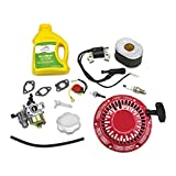honda gx160 carburetor kit - Kit For Honda GX160 Recoil Carburetor Ignition Coil Spark Plug Air Filter