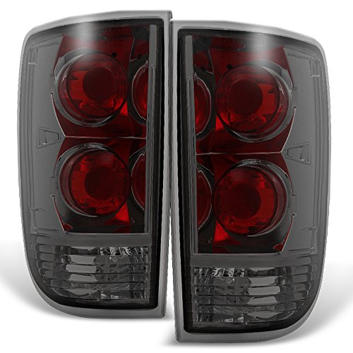 For 1995-2004 Chevy Blazer S10 GMC Jimmy Envoy LH + RH Smoke Replacement Taillights Tail Lamps Pair Set