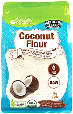 Absolute Organic Coconut Flour 1kg Amazon Com Au Grocery Gourmet Food