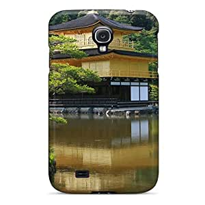 Awesome Case Cover/galaxy S4 Defender Case Cover(golden Temple)