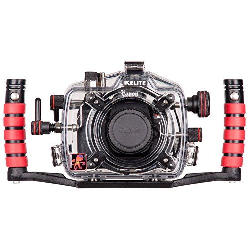 Ikelite 6871.75 Underwater Camera Housing for Canon T6i (750D) DSLR Camera by Ikelite