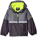 OshKosh B'Gosh Osh Kosh Little Boys' Midweight Fleece Lined Jacket, Grey, 7