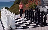 MegaChess 37 Inch Giant Plastic Chess Set - Accessories Available! (Pieces Only)