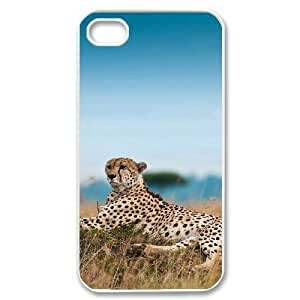 Pets & Animals Case For iPhone 4/4s White Nuktoe261256